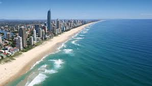 Skyscape of the Gold Coast
