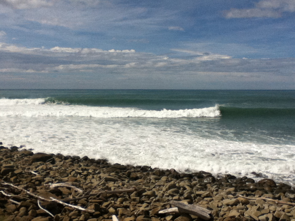 In search of surf….