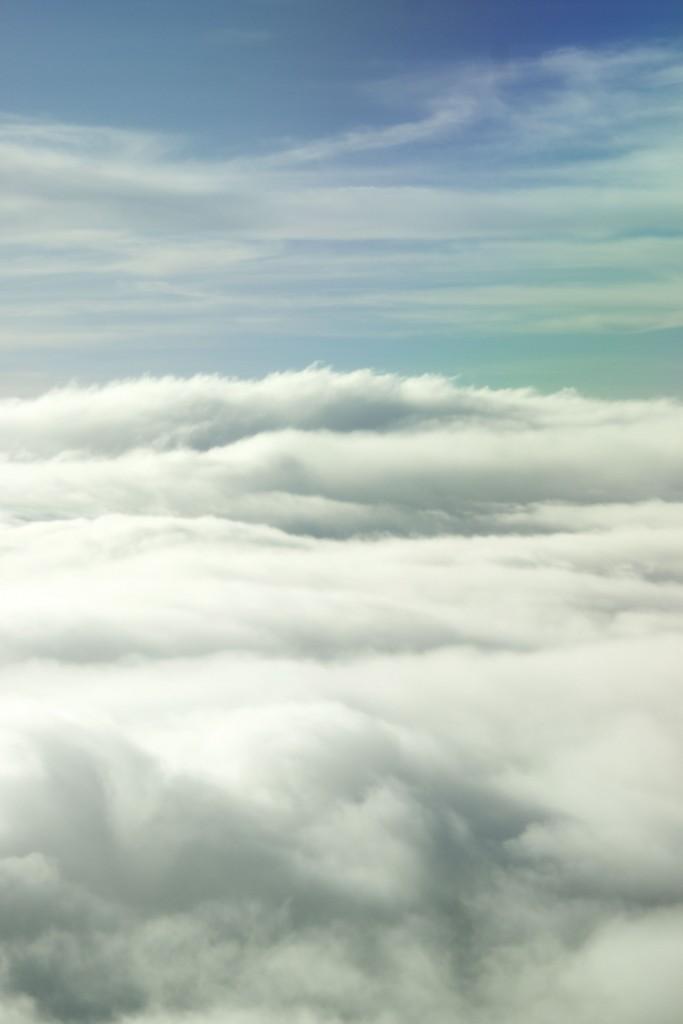 Cloudscape, somewhere over the Arafura Sea