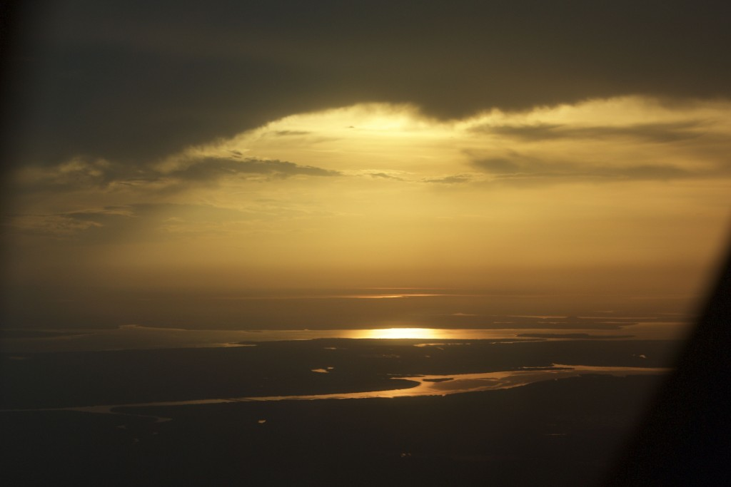 Sunset over the Northern Territory