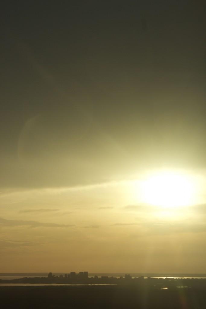 Sunset skyline, Darwin