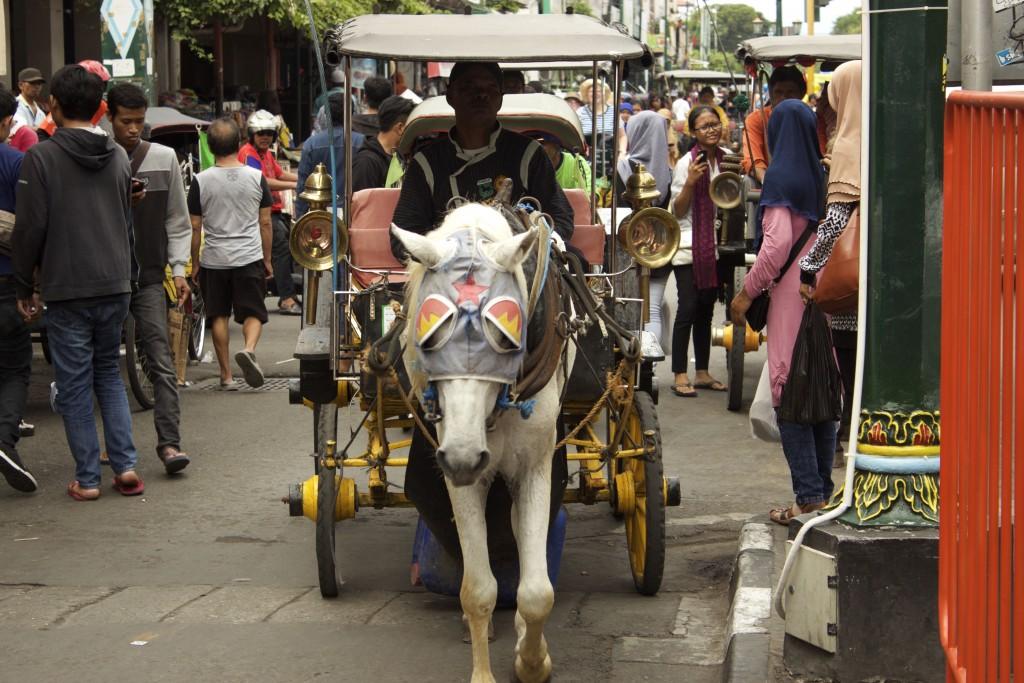 City traffic, Malioboro Street, Yogyakarta